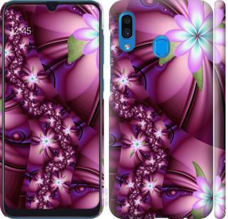 Чехол на Samsung Galaxy A30 2019 A305F Цветочная мозаика