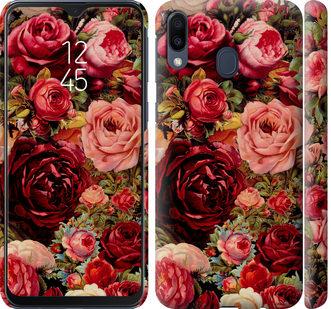 Чехол на Samsung Galaxy M20 Цветущие розы