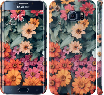 Чехол на Samsung Galaxy S6 Edge G925F Beauty flowers