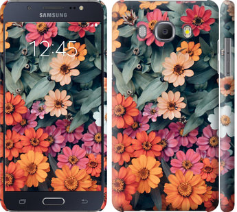Чехол на Samsung Galaxy J5 (2016) J510H Beauty flowers