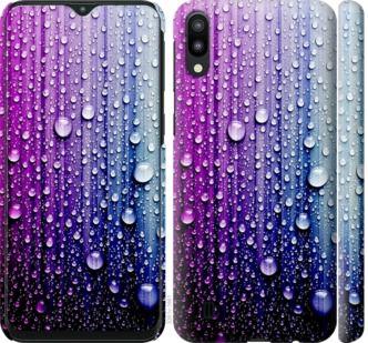 Чехол на Samsung Galaxy M10 Капли воды