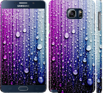 Чехол на Samsung Galaxy Note 5 N920C Капли воды