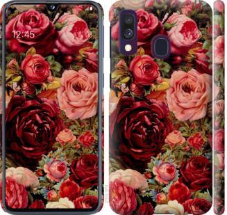 Чехол на Samsung Galaxy A40 2019 A405F Цветущие розы