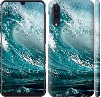 Чехол на Samsung Galaxy A50 2019 A505F Морская волна
