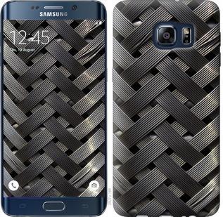 Чехол на Samsung Galaxy S6 Edge Plus G928 Металлические фоны