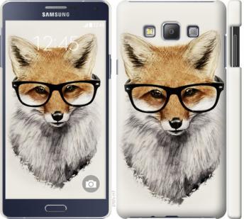 Чехол на Samsung Galaxy A7 A700H Лис в очках