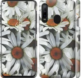 Чехол на Samsung Galaxy A8S Ромашки v2