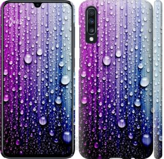 Чехол на Samsung Galaxy A70 2019 A705F Капли воды