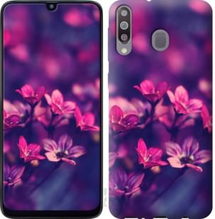 Чехол на Samsung Galaxy M30 Пурпурные цветы