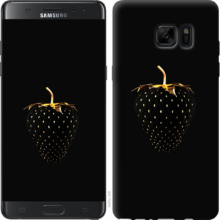 Чехол на Samsung Galaxy Note 7 Duos N930F Черная клубника
