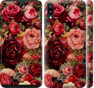 Чехол на Samsung Galaxy M10 Цветущие розы
