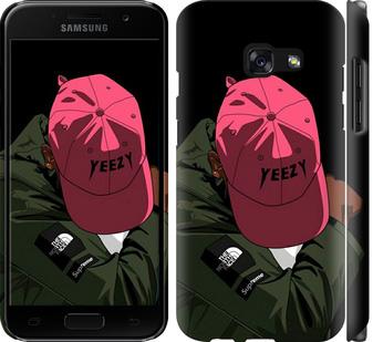 Чехол на Samsung Galaxy A3 (2017) logo de yeezy