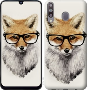 Чехол на Samsung Galaxy M30 Лис в очках