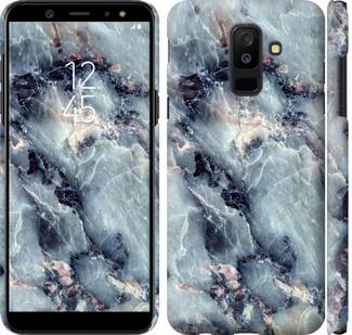 Чехол на Samsung Galaxy A6 Plus 2018 Мрамор