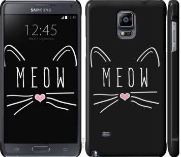 Чехол на Samsung Galaxy Note 4 N910H Kitty