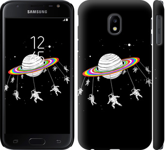 Чехол на Samsung Galaxy J3 (2017) Лунная карусель