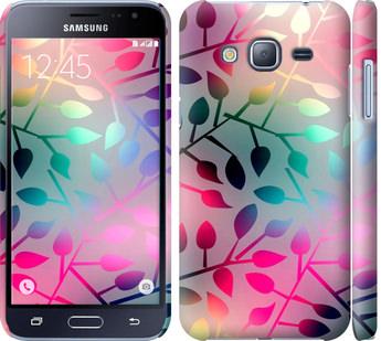 Чехол на Samsung Galaxy J3 Duos (2016) J320H Листья