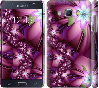 Чехол на Samsung Galaxy J5 (2016) J510H Цветочная мозаика