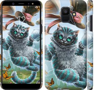 Чехол на Samsung Galaxy A6 2018 Чеширский кот 2