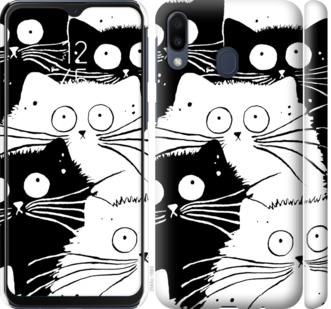 Чехол на Samsung Galaxy M20 Коты v2
