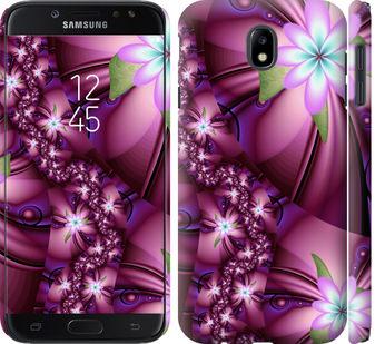 Чехол на Samsung Galaxy J7 J730 (2017) Цветочная мозаика