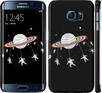 Чехол на Samsung Galaxy S6 Edge G925F Лунная карусель