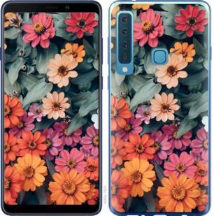 Чехол на Samsung Galaxy A9 (2018) Beauty flowers