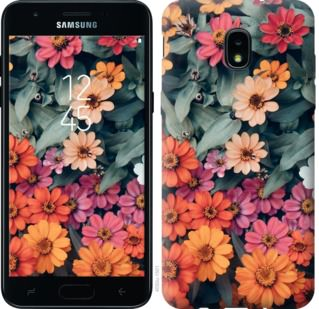 Чехол на Samsung Galaxy J3 2018 Beauty flowers