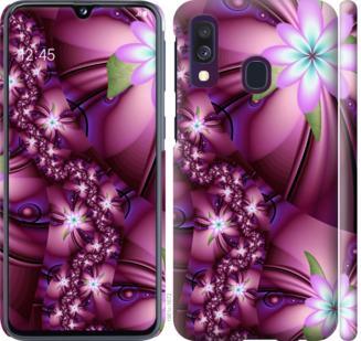 Чехол на Samsung Galaxy A40 2019 A405F Цветочная мозаика