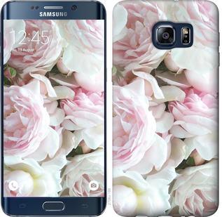 Чехол на Samsung Galaxy S6 Edge Plus G928 Пионы v2