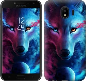 Чехол на Samsung Galaxy J4 2018 Арт-волк