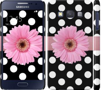 Чехол на Samsung Galaxy A3 A300H Горошек 2