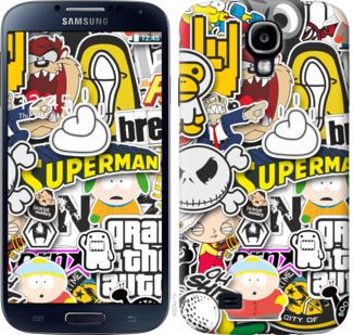 Чехол на Samsung Galaxy S4 i9500 Popular logos