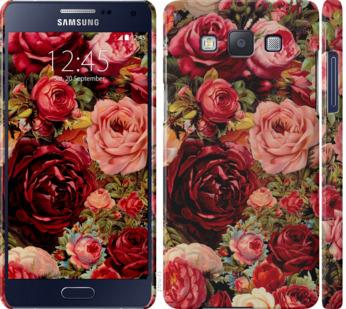 Чехол на Samsung Galaxy A5 A500H Цветущие розы