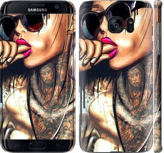 Чехол на Samsung Galaxy S7 Edge G935F Девушка в тату