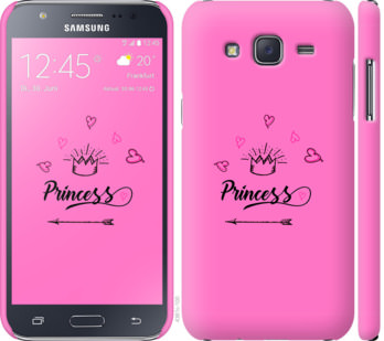 Чехол на Samsung Galaxy J5 (2015) J500H Princess