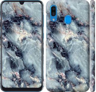 Чехол на Samsung Galaxy A20 2019 A205F Мрамор