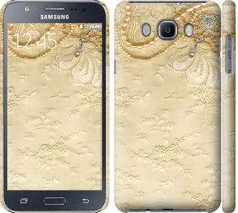 Чехол на Samsung Galaxy J7 (2016) J710F Кружевной орнамент