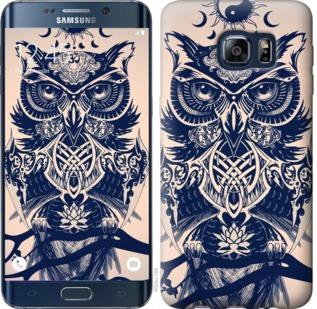 Чехол на Samsung Galaxy S6 Edge Plus G928 Узорчатая сова