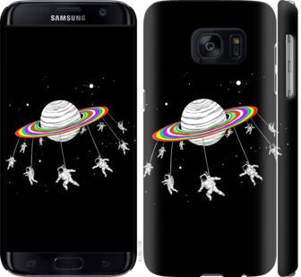 Чехол на Samsung Galaxy S7 G930F Лунная карусель