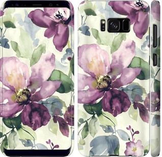 Чехол на Samsung Galaxy S8 Plus Цветы акварелью