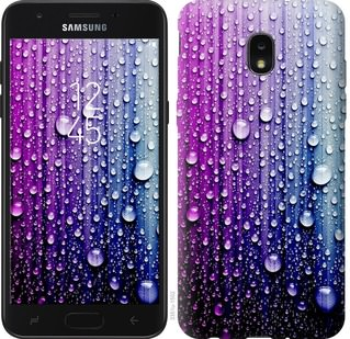 Чехол на Samsung Galaxy J7 2018 Капли воды