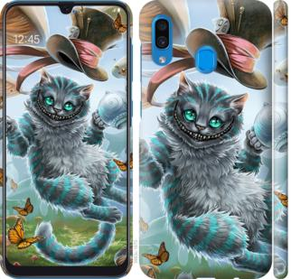 Чехол на Samsung Galaxy A20 2019 A205F Чеширский кот 2