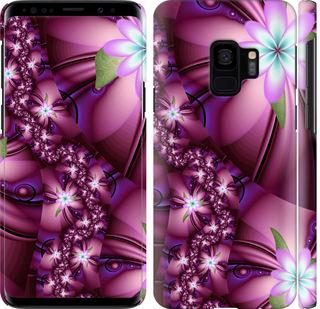 Чехол на Samsung Galaxy S9 Цветочная мозаика