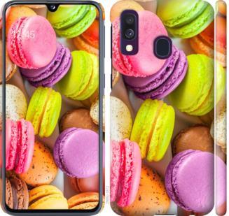 Чехол на Samsung Galaxy A40 2019 A405F Макаруны