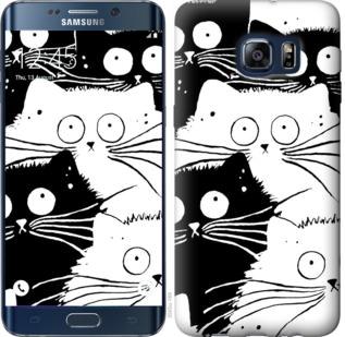 Чехол на Samsung Galaxy S6 Edge Plus G928 Коты v2