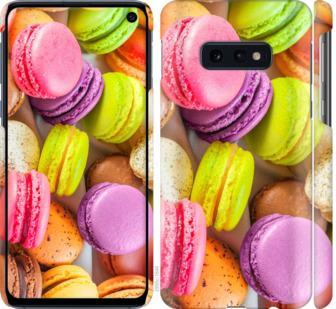Чехол на Samsung Galaxy S10e Макаруны