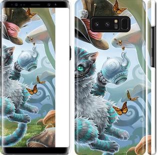 Чехол на Samsung Galaxy Note 8 Чеширский кот 2