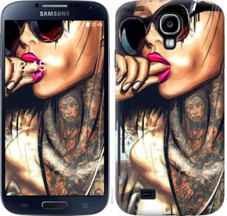 Чехол на Samsung Galaxy S4 i9500 Девушка в тату