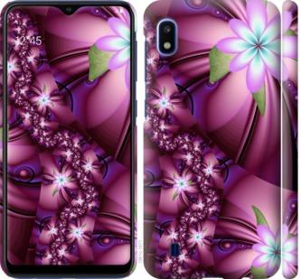 Чехол на Samsung Galaxy A10 2019 A105F Цветочная мозаика